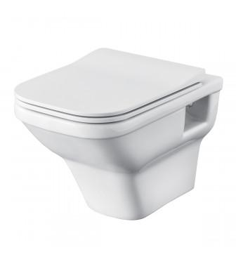 WC suspendat Santek by Roca LAIN rimless