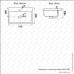 Lavoar incastrat Melana 805-MLN-S50 (9393)