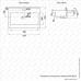 Lavoar incastrat Melana 805-MLN-S60 X (9393)
