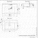 Lavoar blat Melana 805-MLN-E70 (9070E)